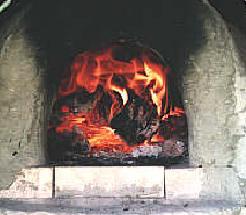 la puerta del horno